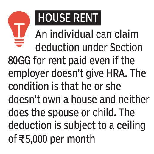 6. House Rent