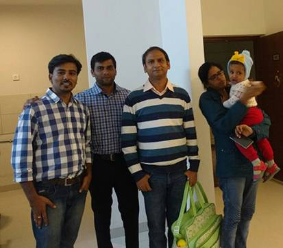 DNR Atmosphere 3 BHK - Namresh - Hemanth (DNR Sales), Ravi (Homz N Space)
