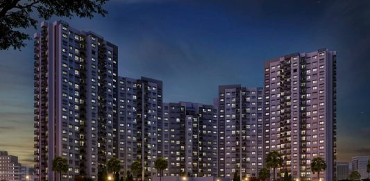 Godrej 24 Bangalore Elevation Night