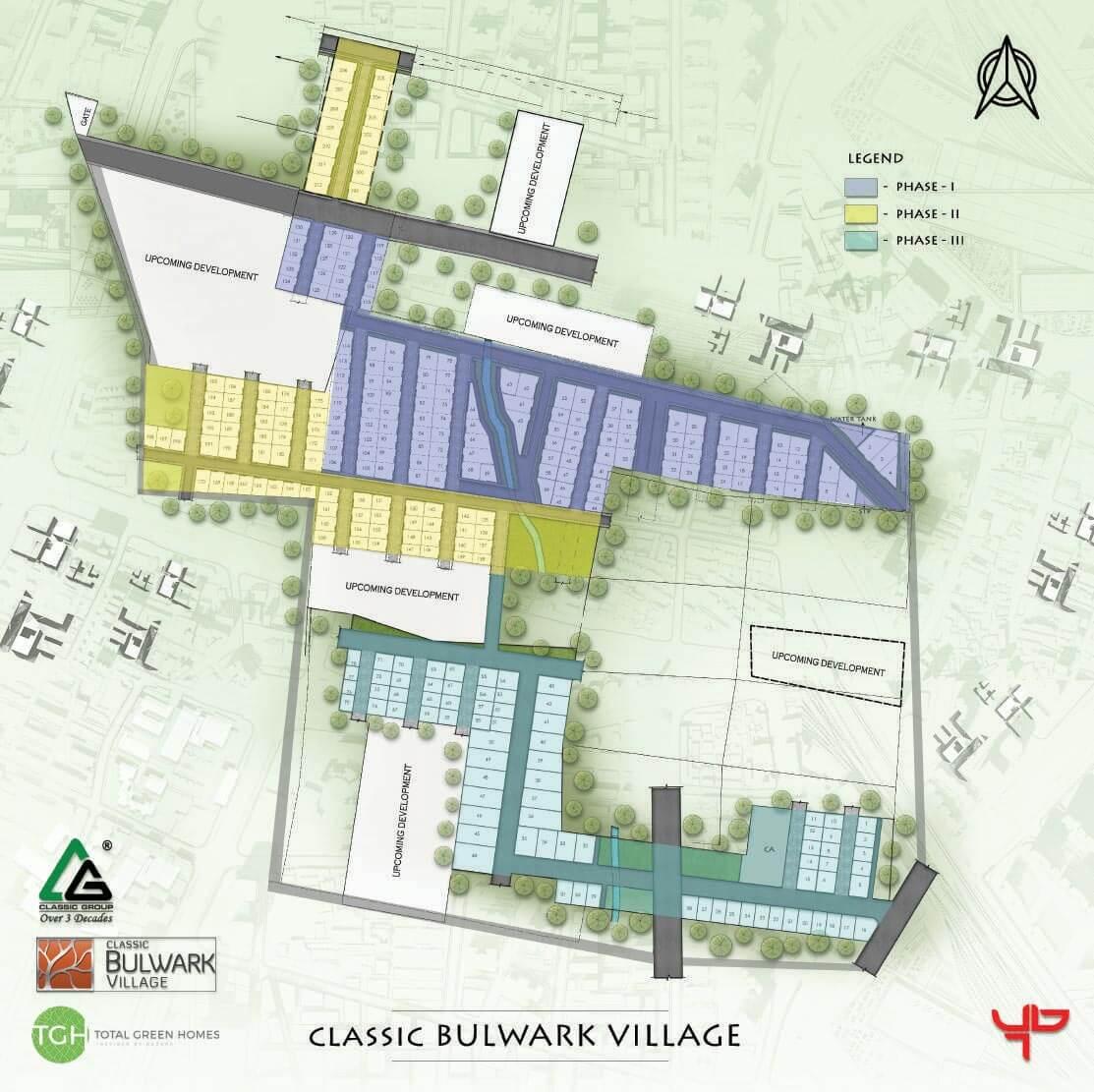 Layout Plan - TGH Classic Bulwark Village