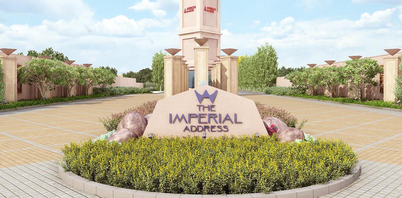 Main Entrance - The Imperial Address Chandapura Plots