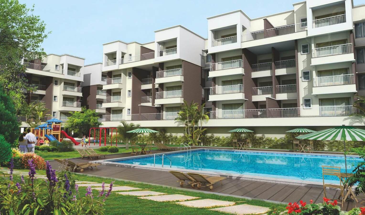 Main Elevation - Sobha Serene Porur Chennai