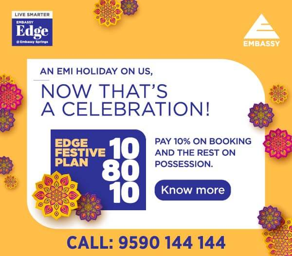 Festive Offer 108010 Embassy Edge 2020