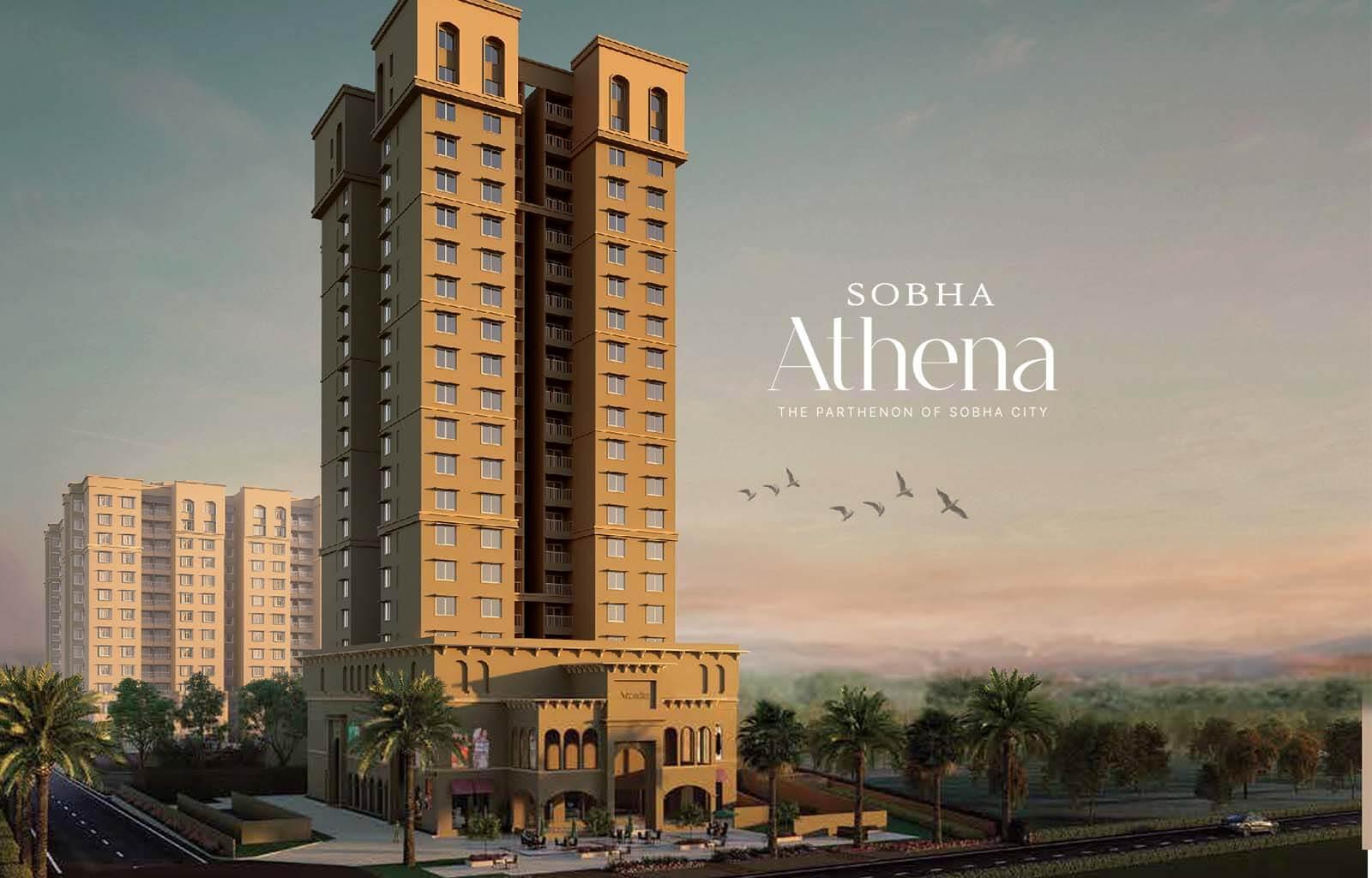 Main Elevation - Sobha City Athena