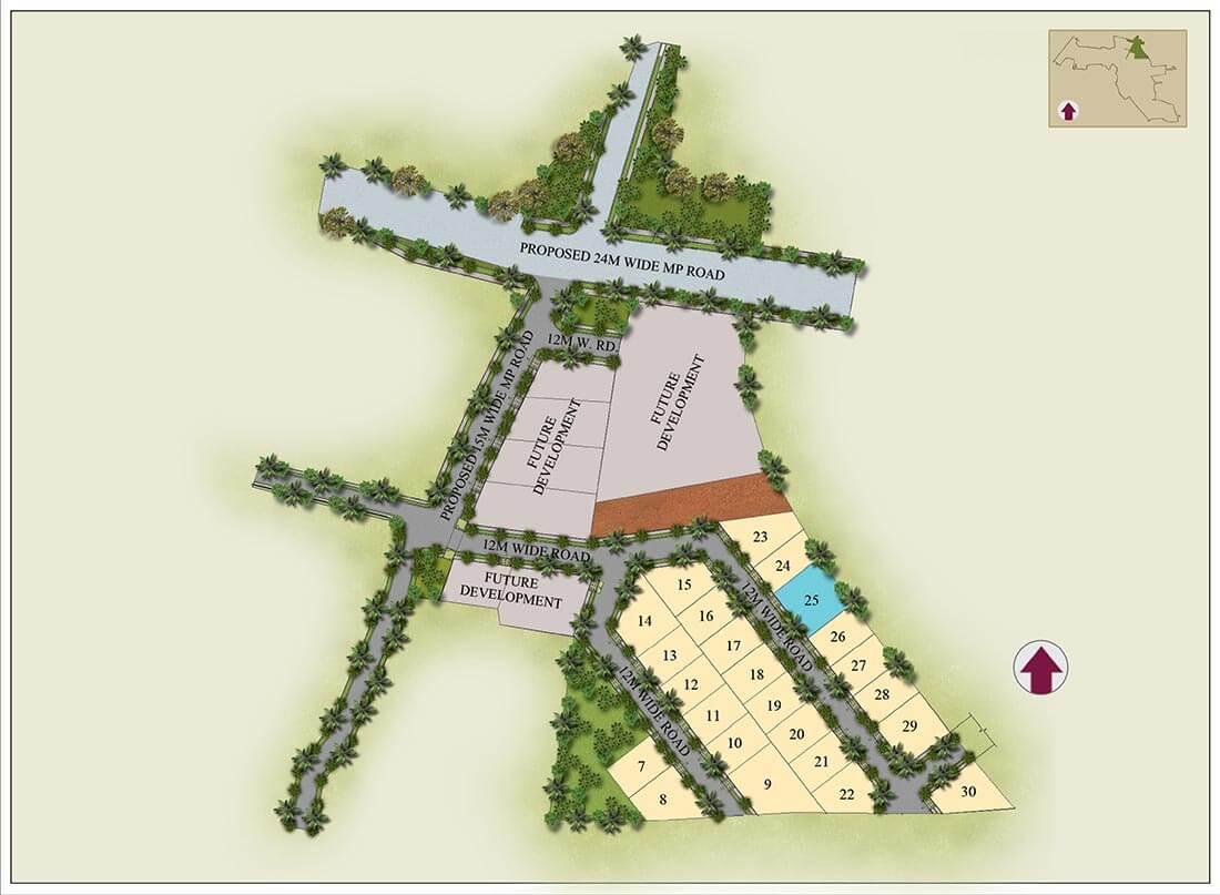 Master Plan - Hiranandani Devanahalli Plots