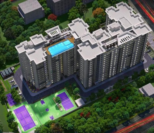 Aerial View - Enessen Estates & Prime One Corp Centreo