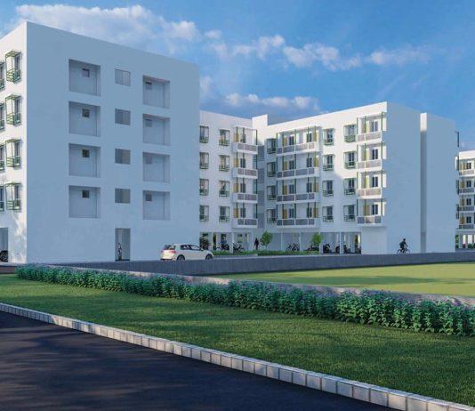 Main Elevation - Mahindra Happinest Avadi Chennai
