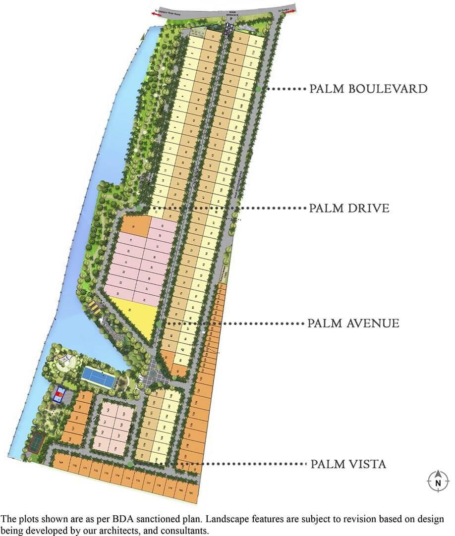 Master Plan Main - DRA Palm Lakeside Ranka Palm Lakeside