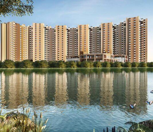 Main Lake View - Shriram Suvilas Palms
