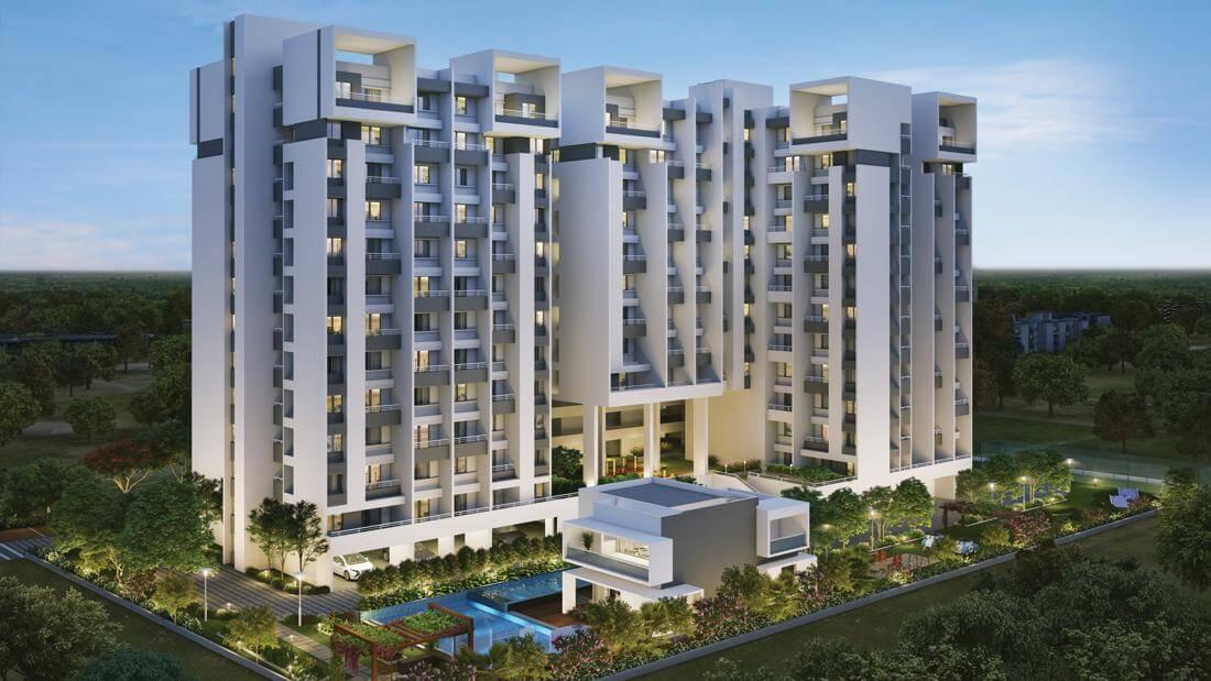 Elevation 01 - Rohan Ipsita Pune