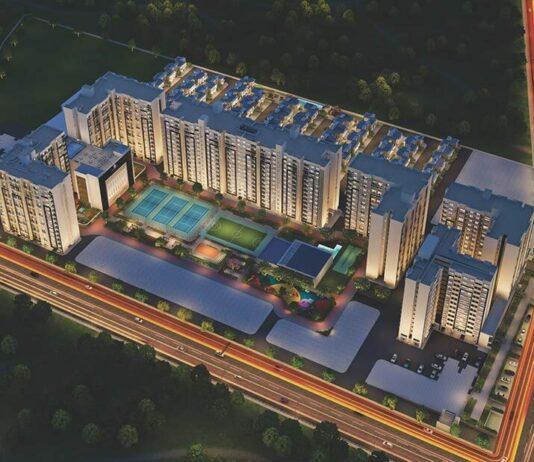 Main Aerial - Gera World Of Joy Pune
