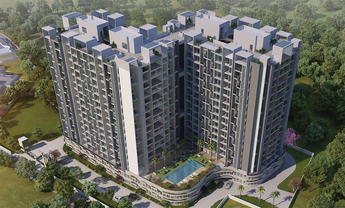 Main Elevation A - Purva Aspire Pune