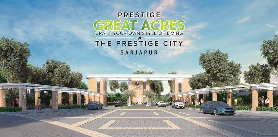 Main View - Prestige Great Acres Prestige Smart City